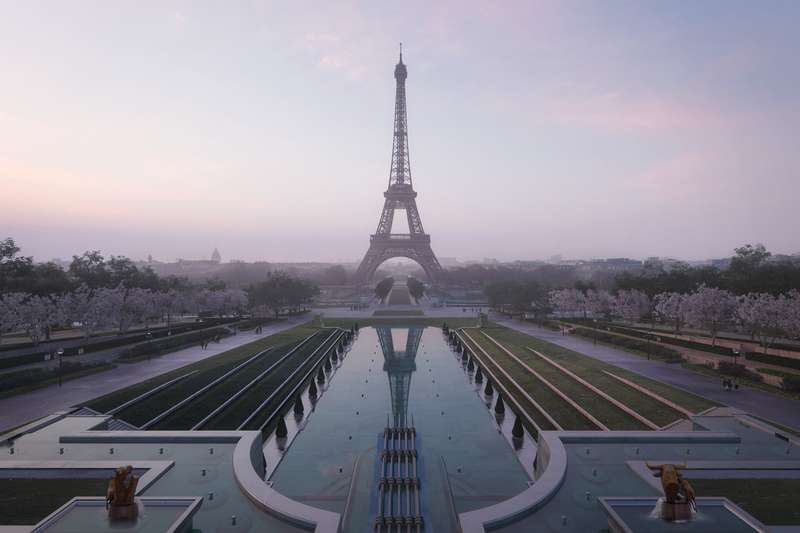 Projet Grand Site Tour Eiffel 2024 à Paris